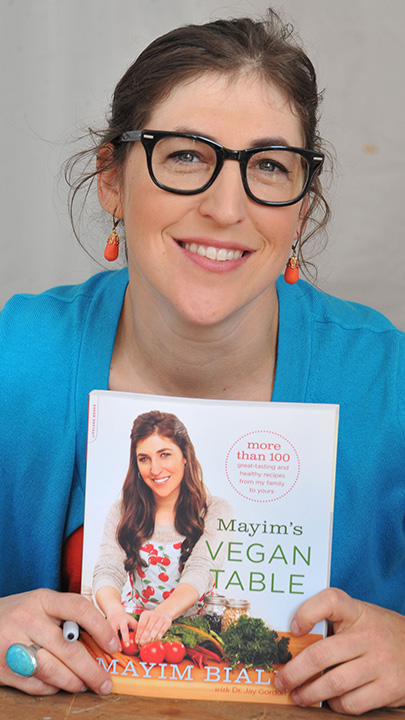 She's a devout vegan and even penned her own vegan cookbook.