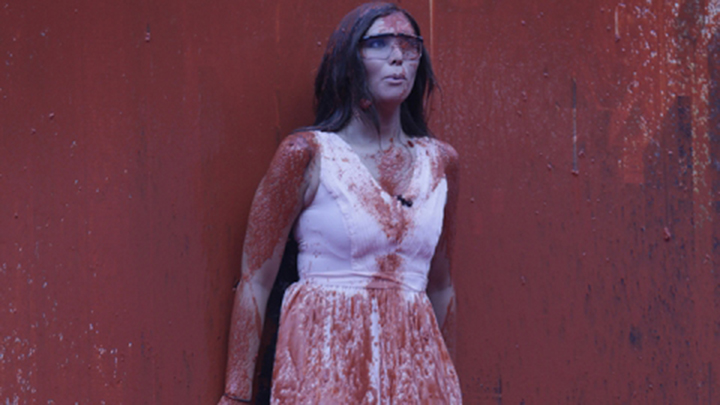 5. The hardest competition of the season had Audrey seeing red.