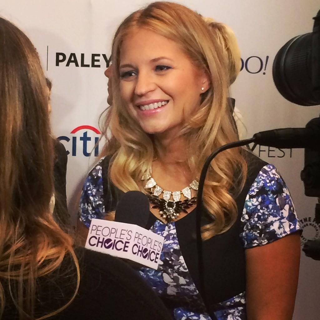 Vanessa Ray on the Red Carpet