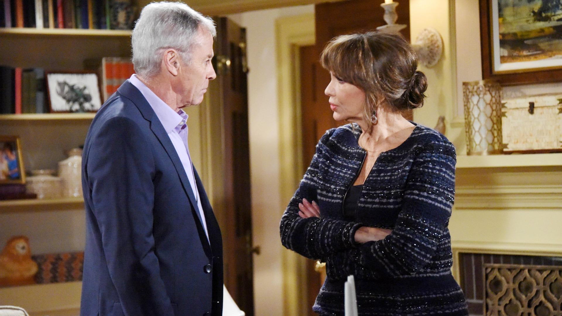 Colin pays Jill a surprise visit.
