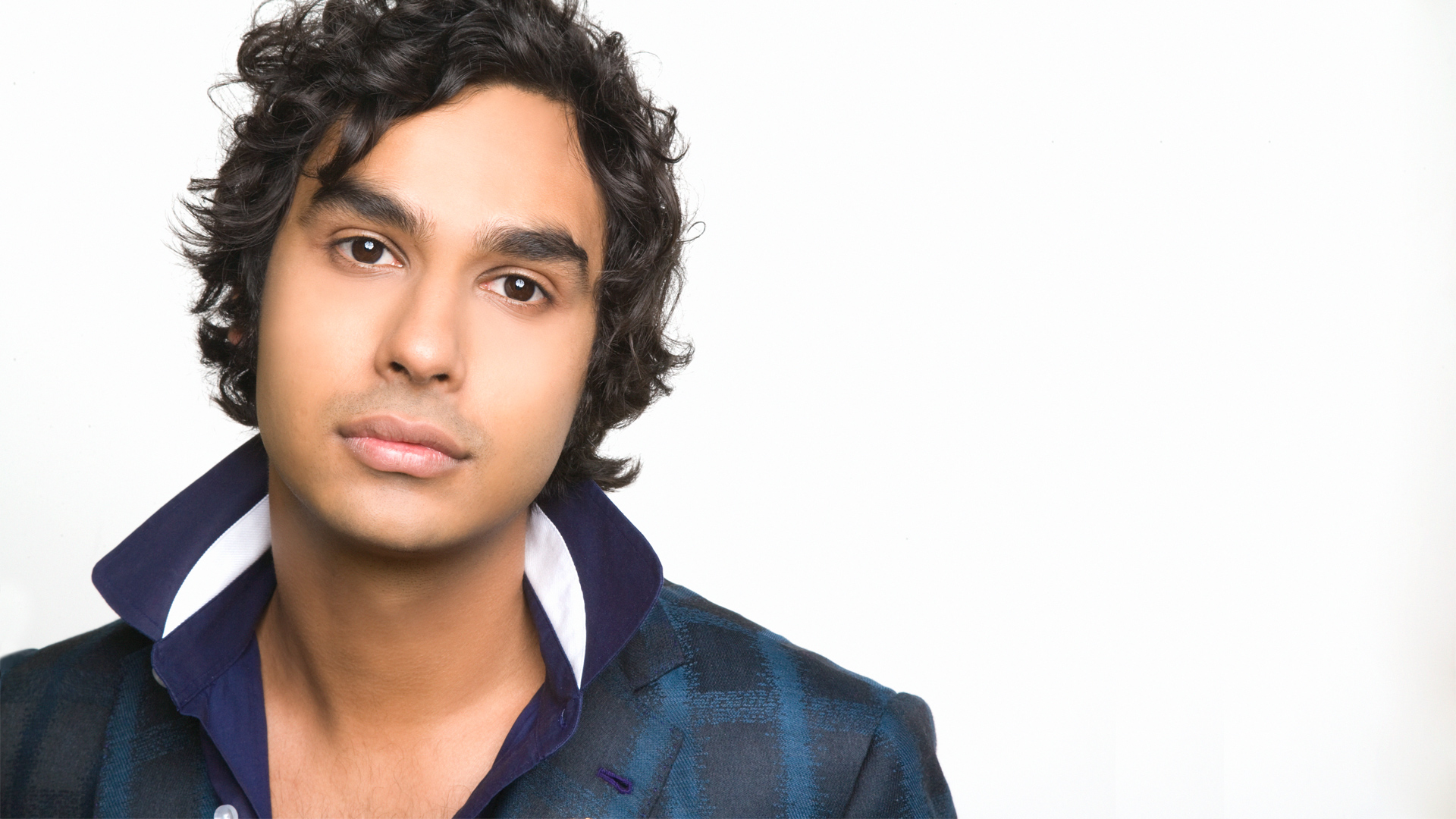 Kunal Nayyar gets serious for his cover shot