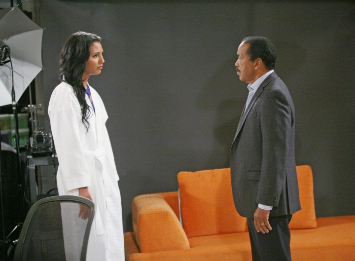 Sasha confronts Julius about the treatment she has received from him in comparison to his other children.