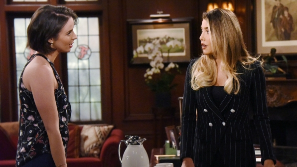 Ivy tells Steffy how she really feels.