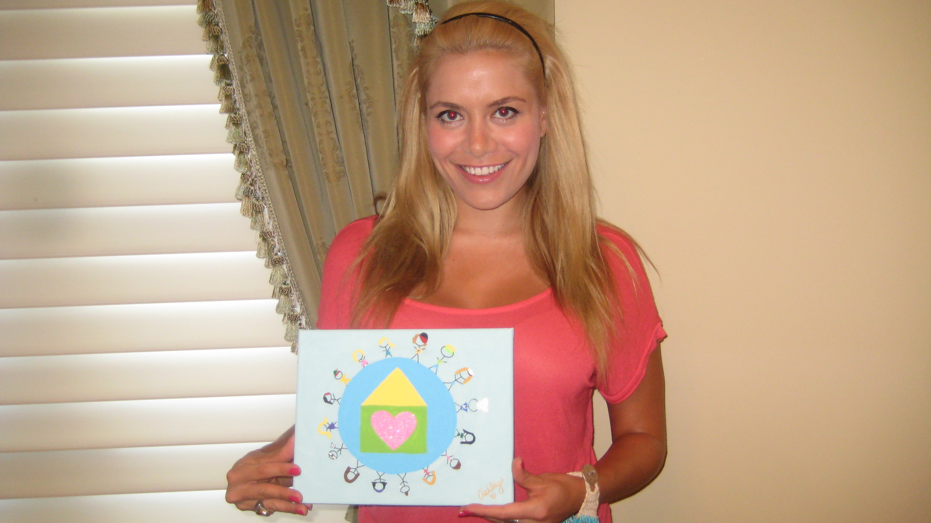 Ashley and her Painting