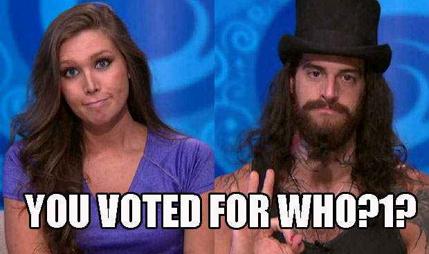4. Audrey and Austin cast unexpected votes.