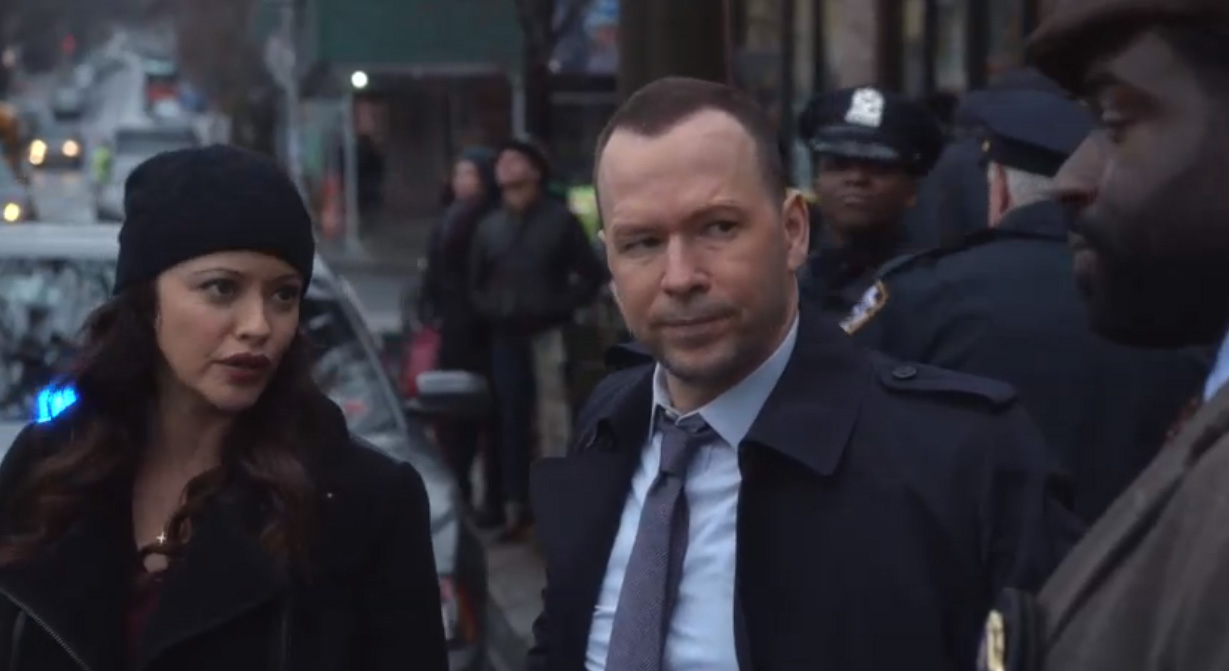 Maria Baez as Marisa Ramirez and Donnie Wahlberg as Danny Reagan