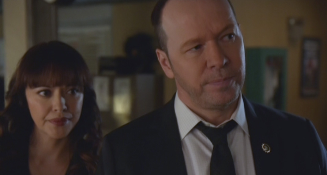 Marisa Ramirez as Maria Baez and Donnie Wahlberg as Danny Reagan