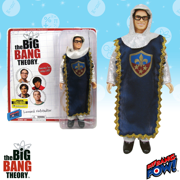 The Big Bang Theory Leonard Knight 8-Inch Figure-Convention Exclusive