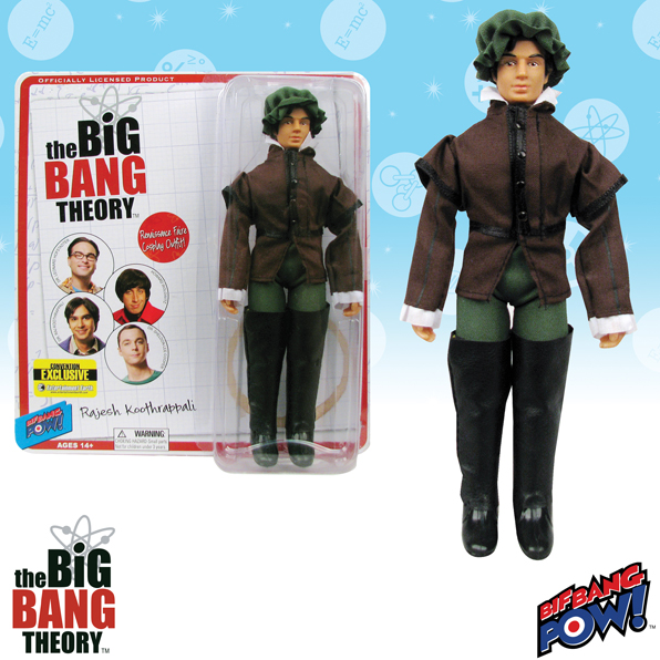 The Big Bang Theory Raj Gentleman 8-Inch Figure - Convention Exclusive