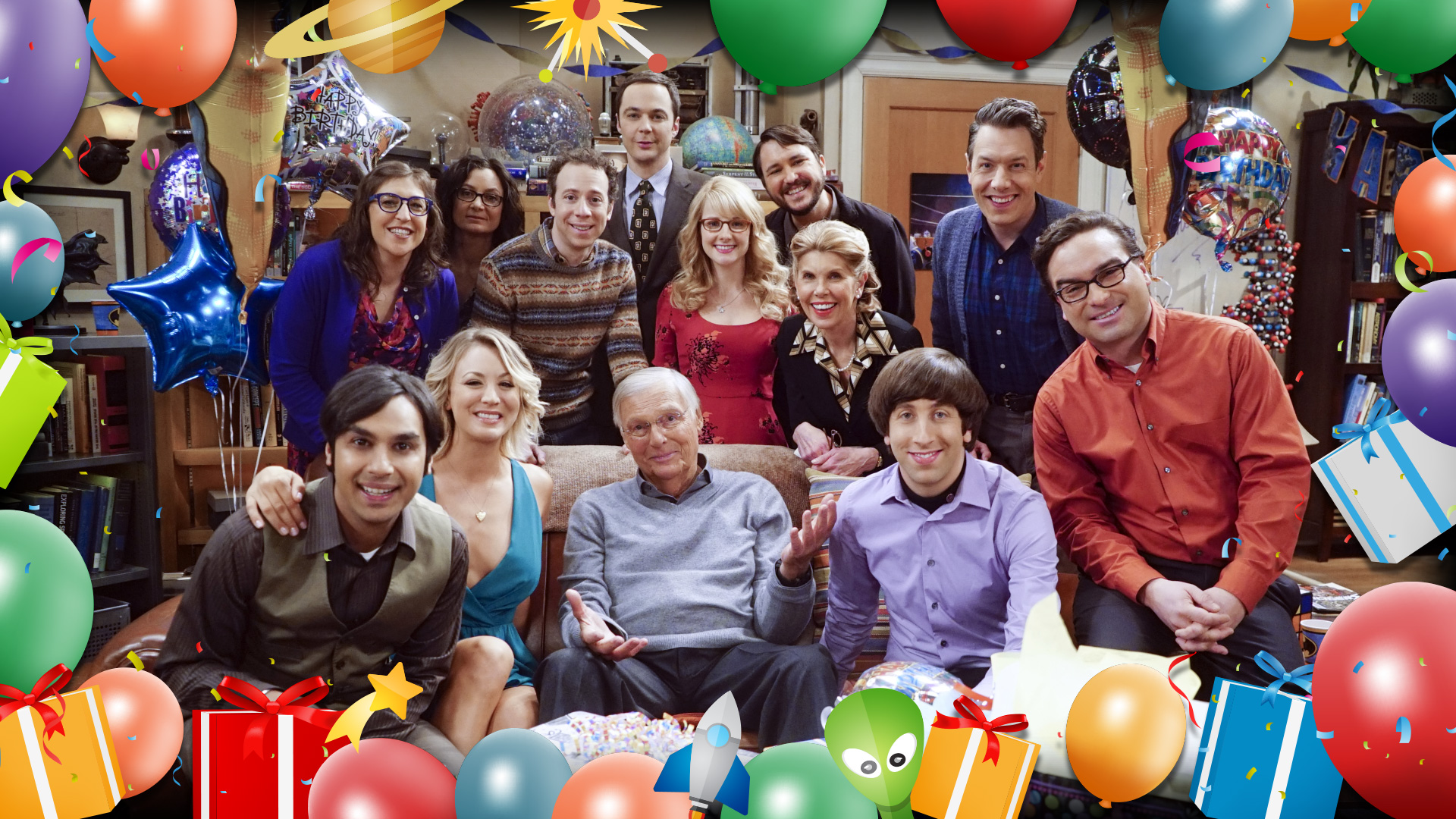 Happy 200th episode to the cast, crew, and fans of The Big Bang Theory!
