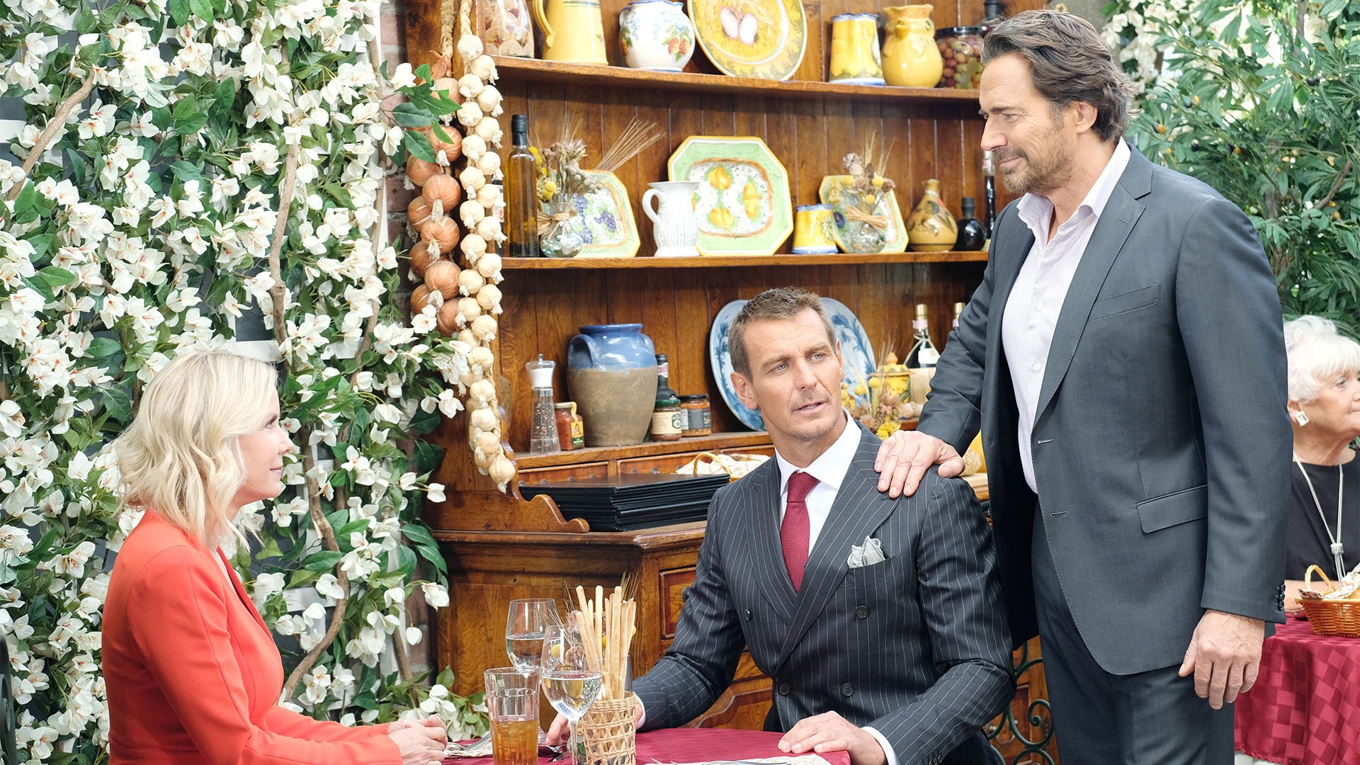 Ridge is blindsided when he learns of Thorne's current living arrangement.