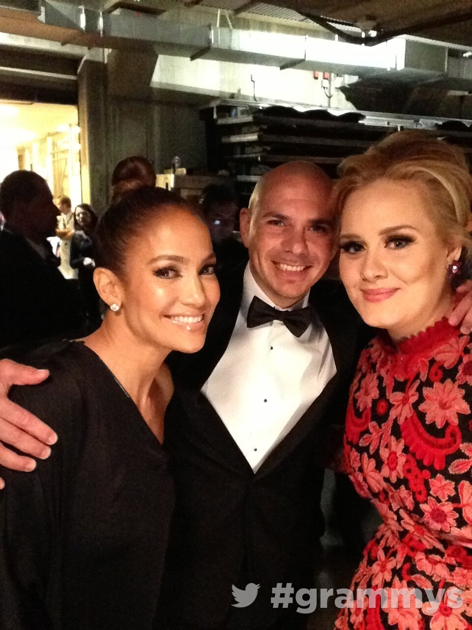 Adele, Pit Bull and Jennifer Lopez