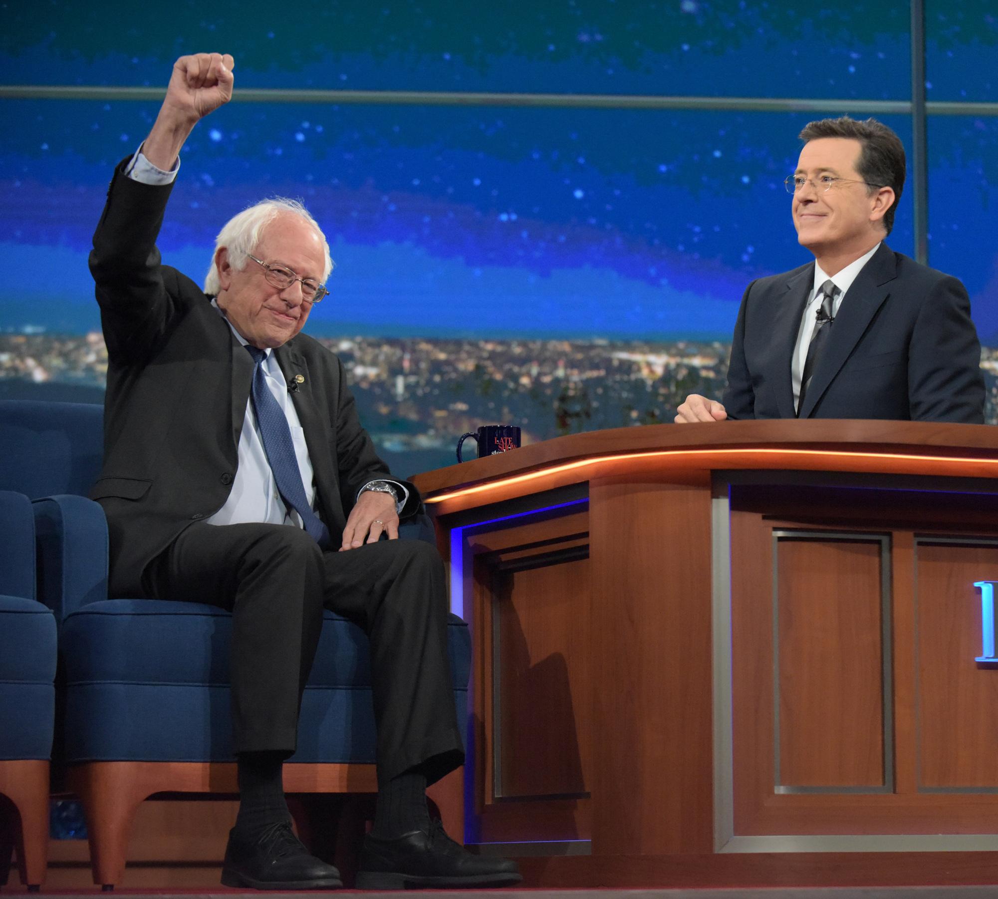 Bernie Sanders Describes The Scene on House Floor During Sit-In