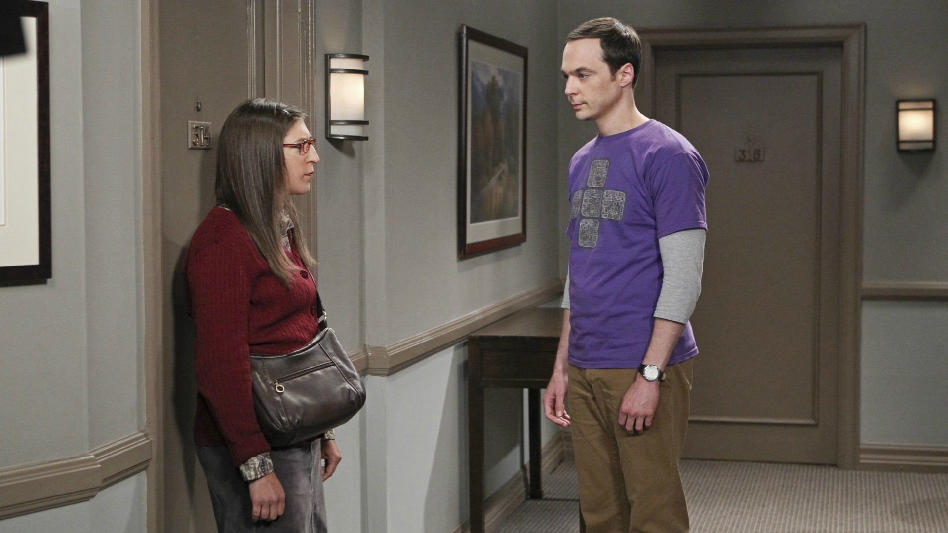 3. We cried when Amy and Sheldon broke up