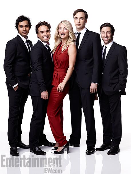Big Bang Theory Cast on EW