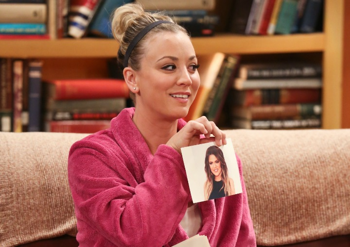 Penny almost tricks Sheldon with this image of a reality-TV star.