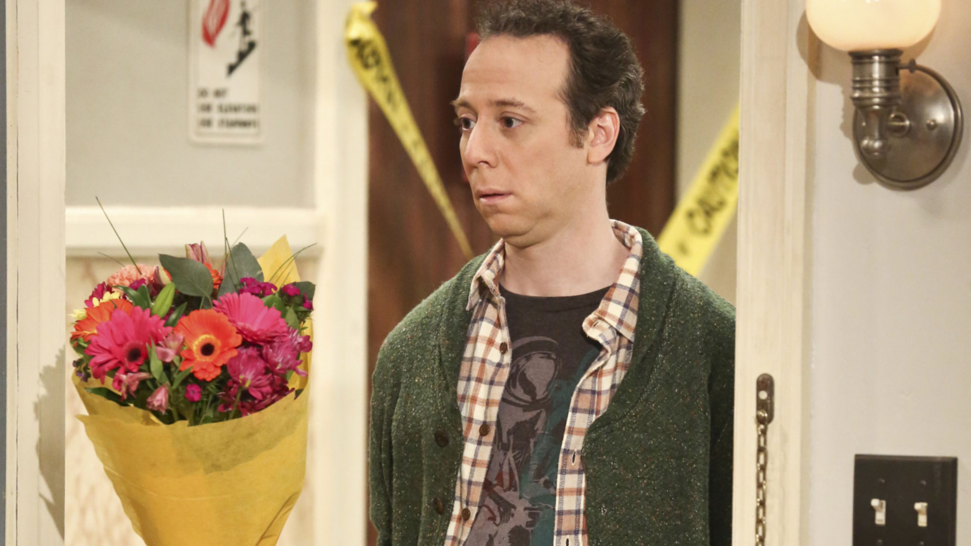 13. We laughed when Sheldon hired Stuart to make amends with Amy