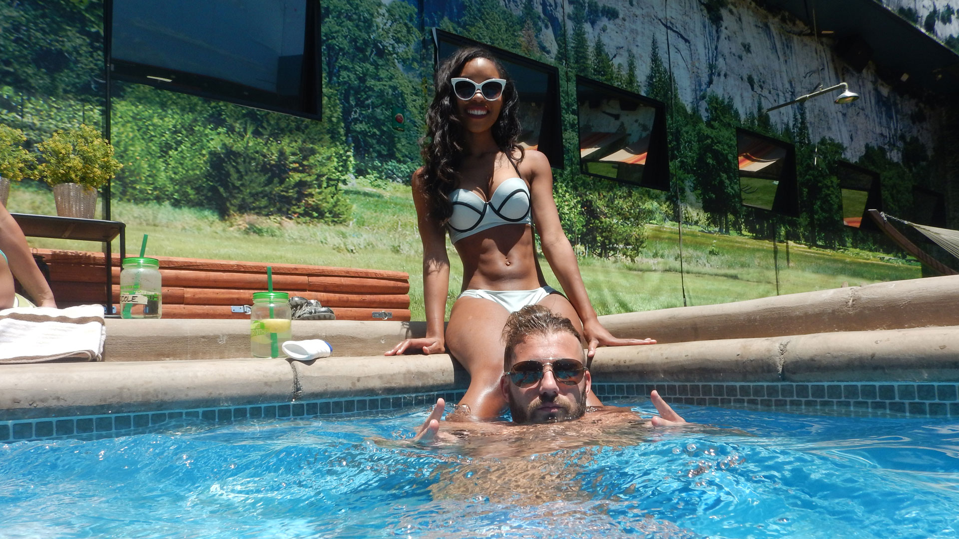 Zakiyah and Paulie look great together both inside and outside the BB house.