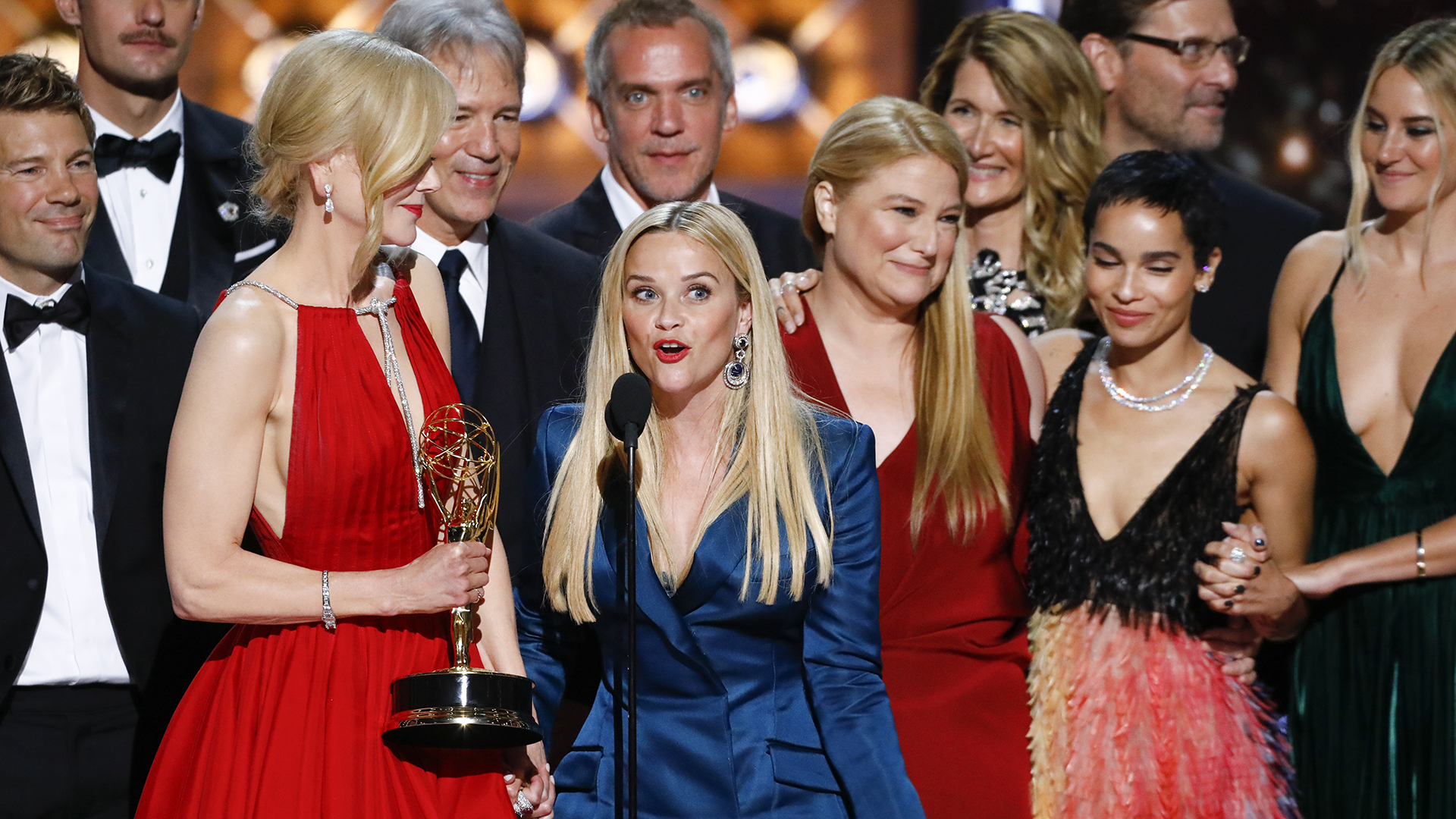 Big Little Lies wins Outstanding Limited Series at The 69th Emmy Awards.