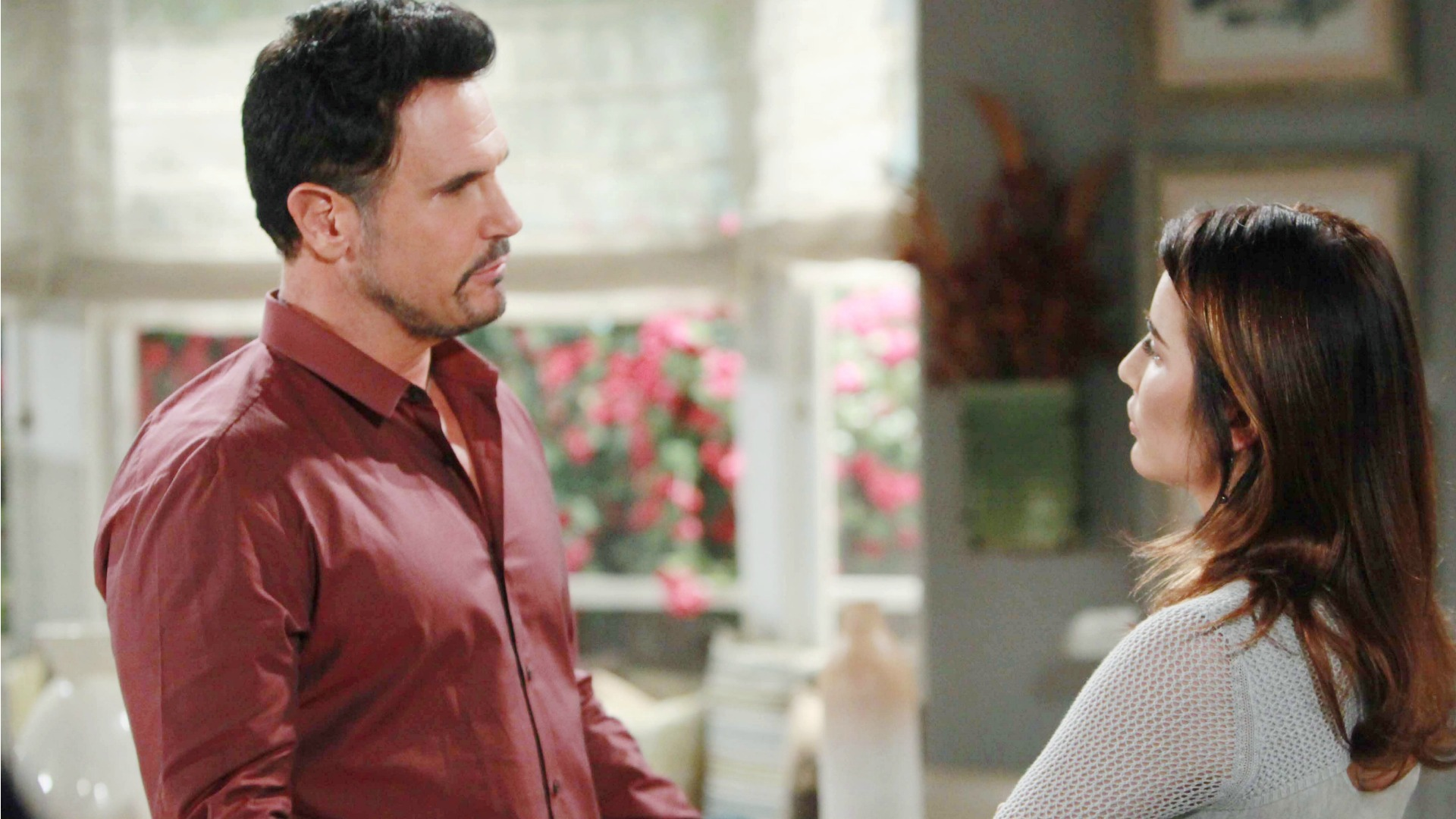 Bill gives Steffy surprising words of advice regarding her marriage.