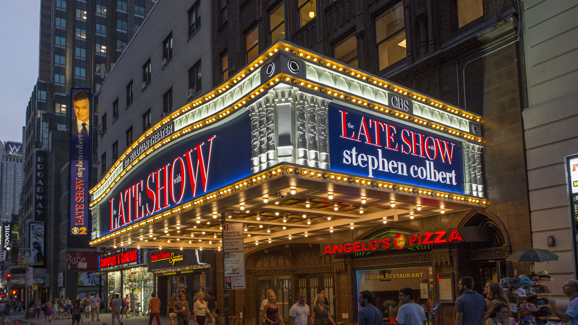 Sign Up For The The Late Show Newsletter!