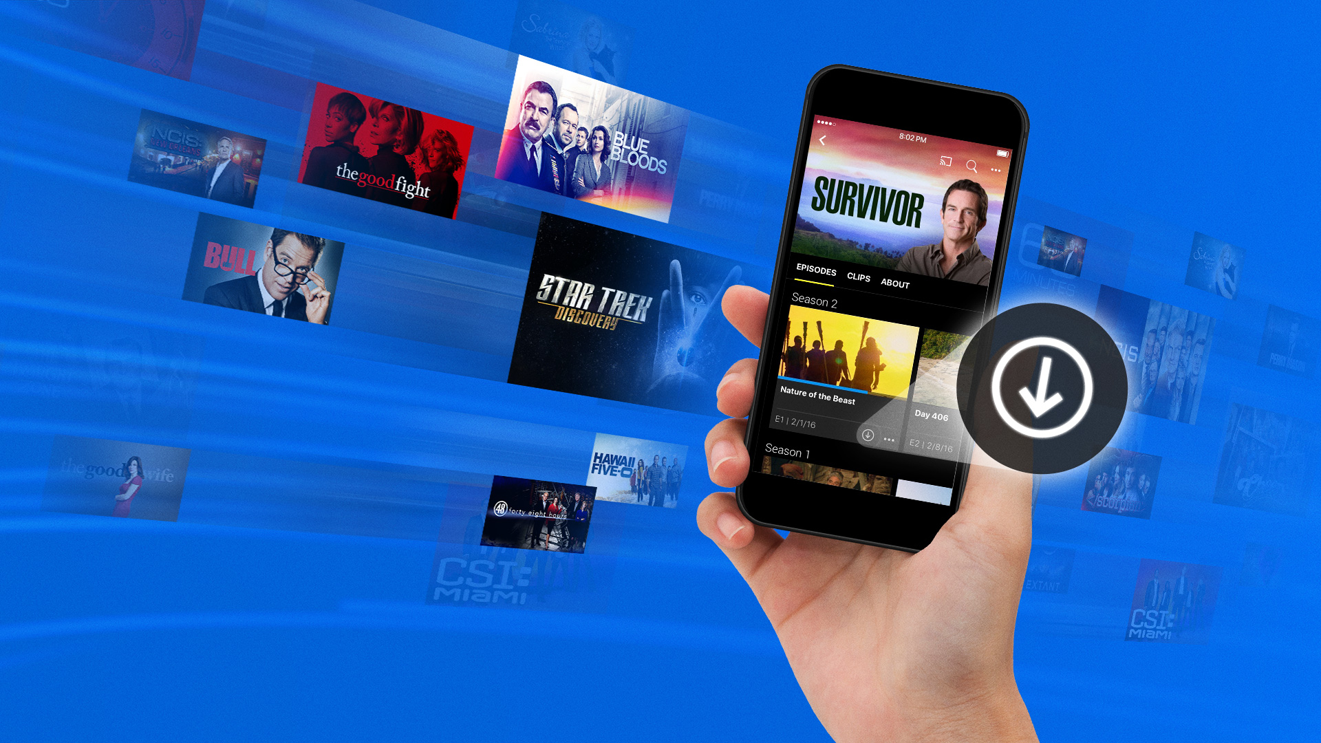 How To Watch Tv Shows Offline With Download Play From Cbs All Access