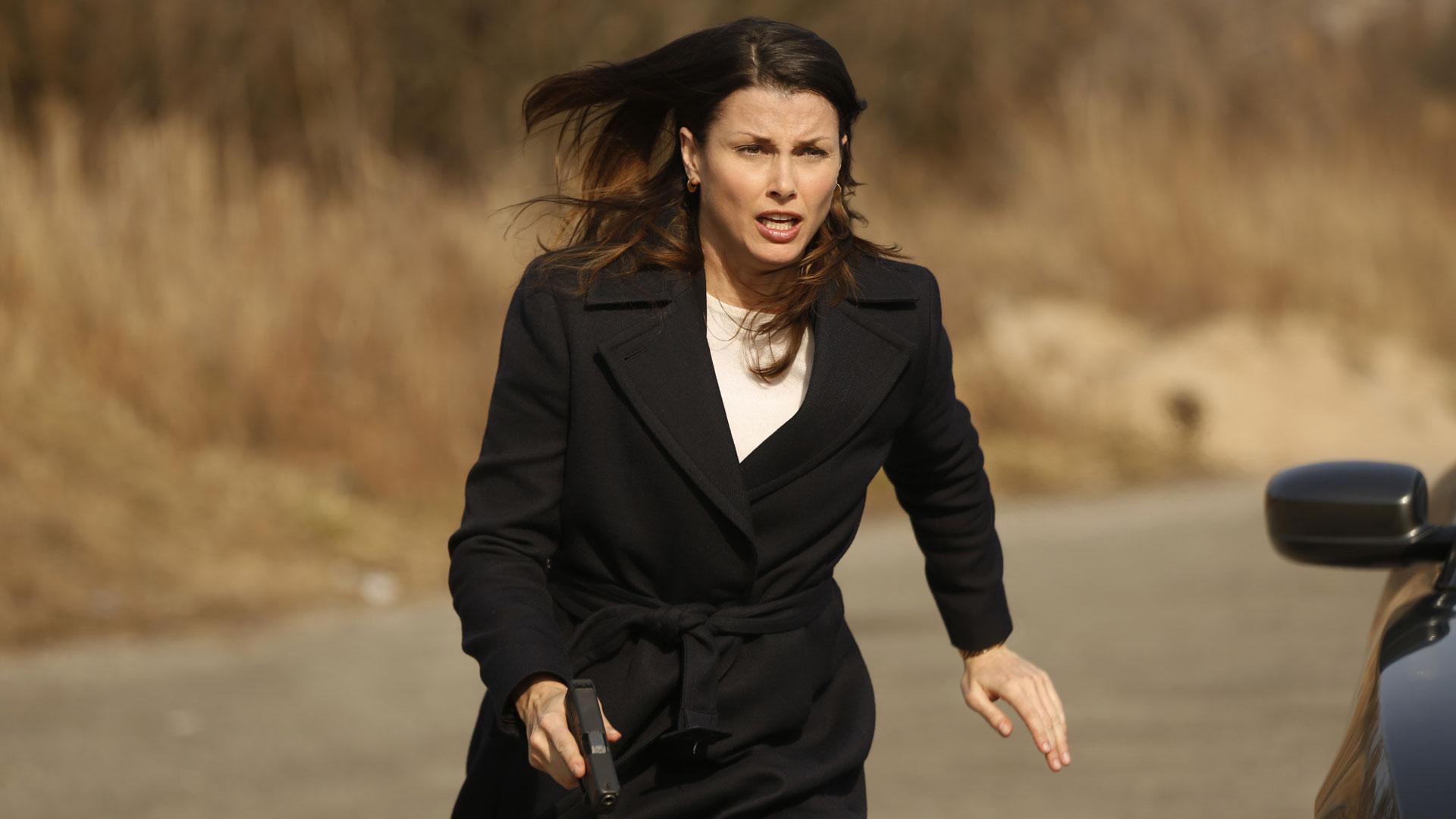Erin Reagan rushes onto the scene.