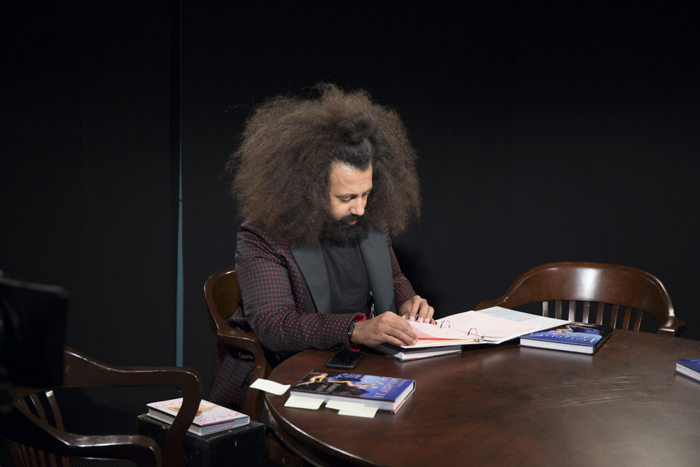 Reggie Watts joined as well.