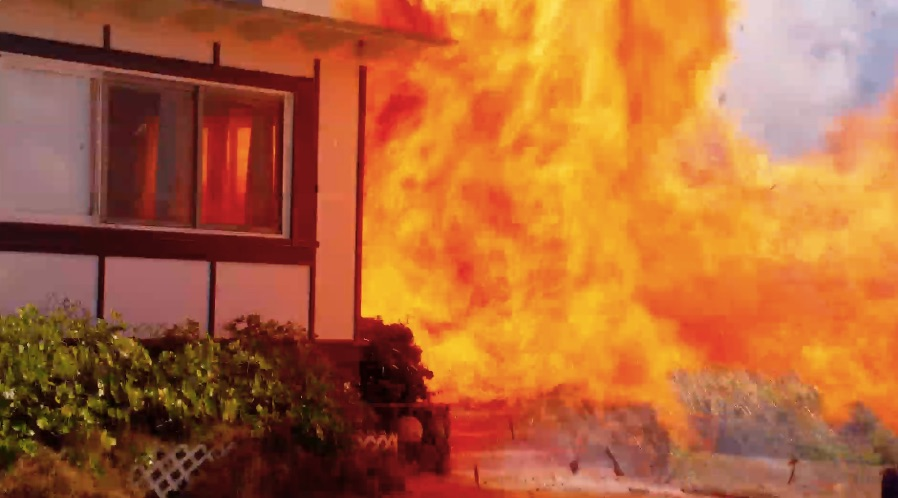 The real owner of the house blown up by Andre Trout's explosive had intended on demolishing his home, and allowed Five-0 to plant propane mortars and poppers for the big boom.