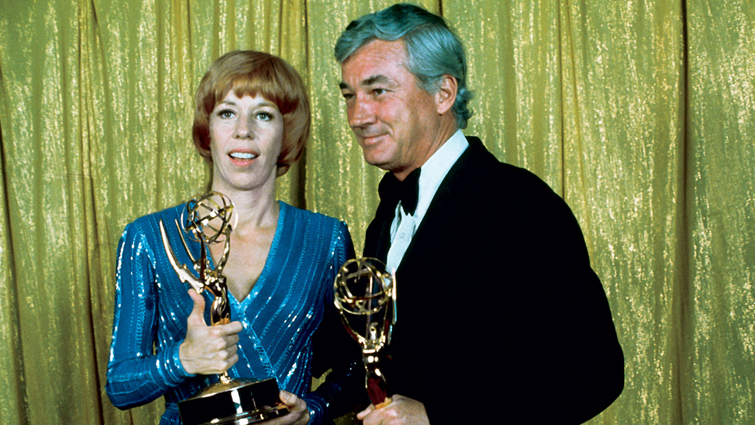 Only six(!) awards were distributed at the first Emmys.