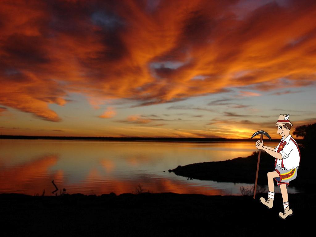 Pretty Texas sunset