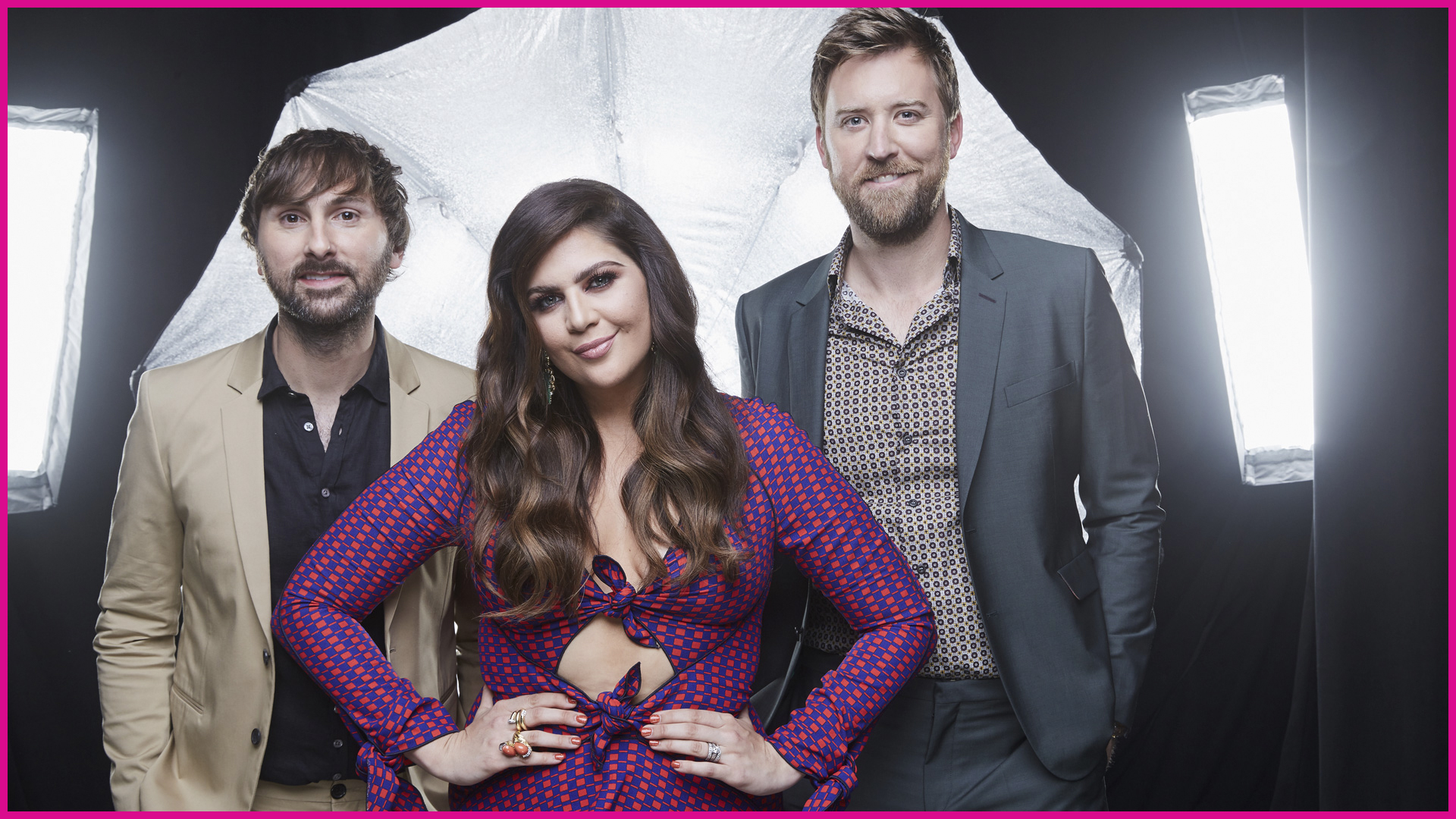 Lady Antebellum kicks back after a killer performance in Sin City.