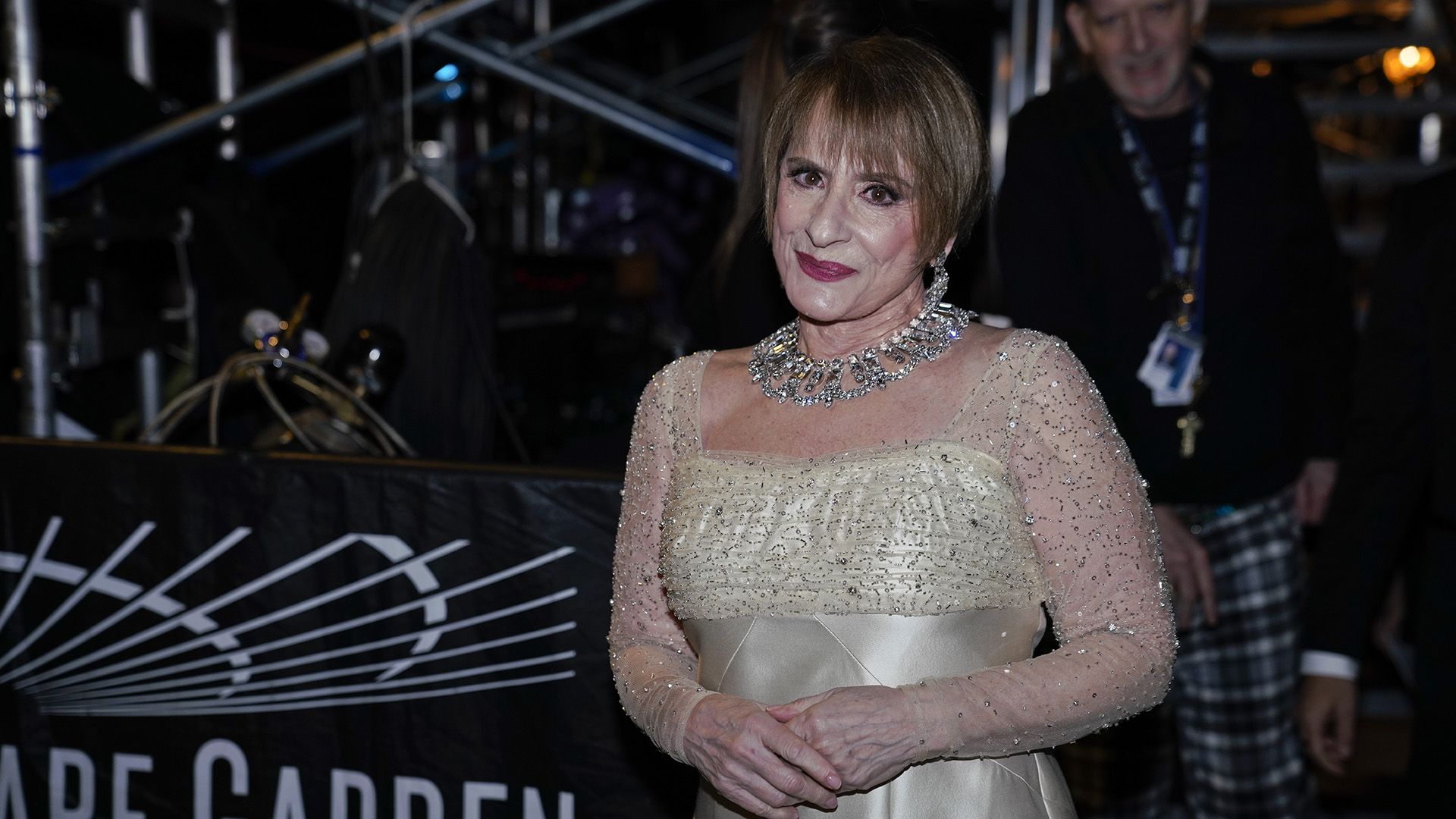 "Patti LuPone, who paid tribute to iconic Broadway composer Sir Andrew Lloyd Webber with a performance of ""Don't Cry For Me Argentina,"