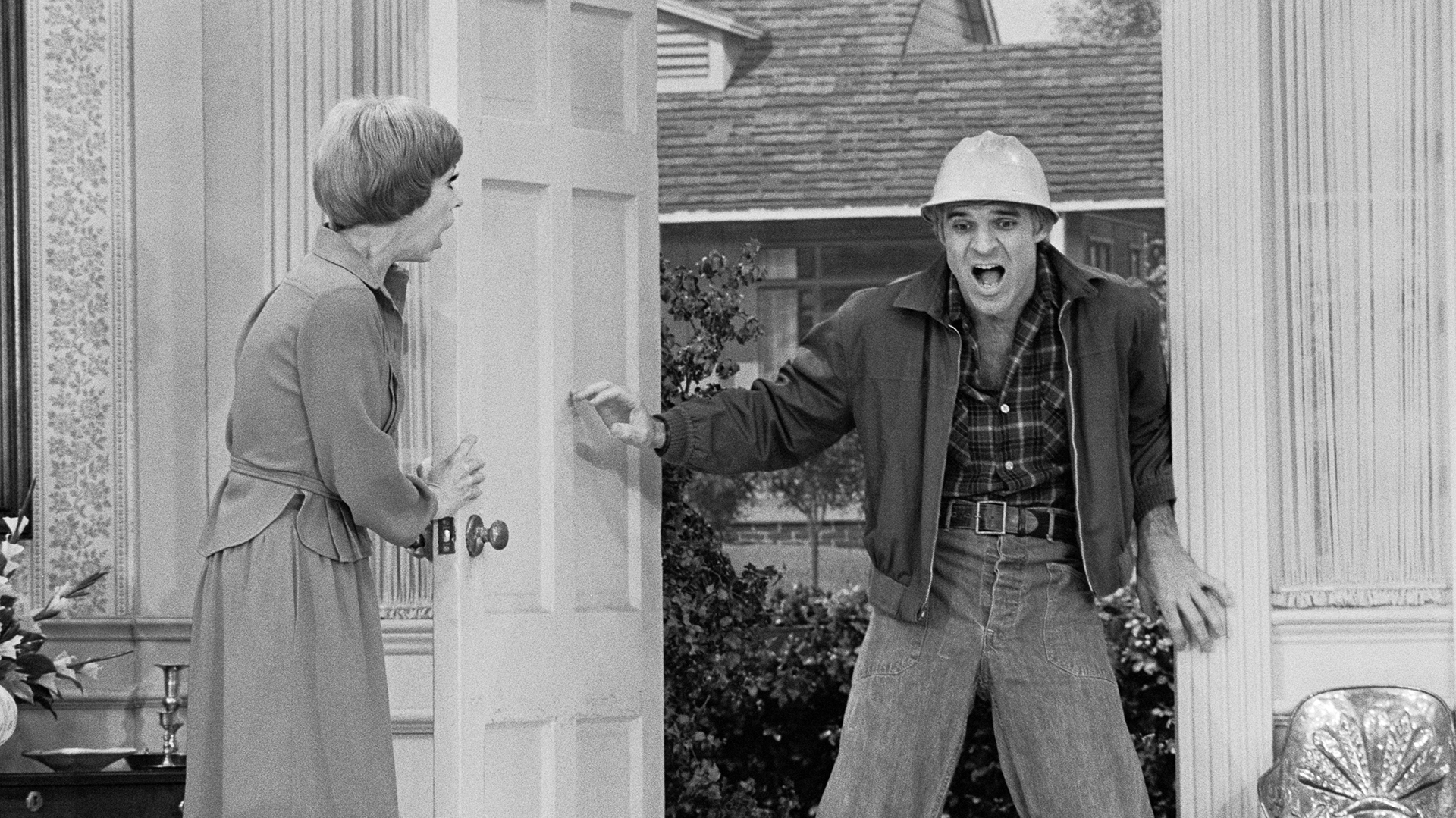 Carol Burnett and Steve Martin parody soap stars in