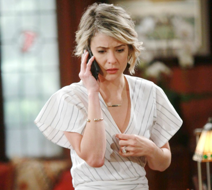 Caroline knows what's right concerning Douglas, but, is validated by Katie's counsel.
