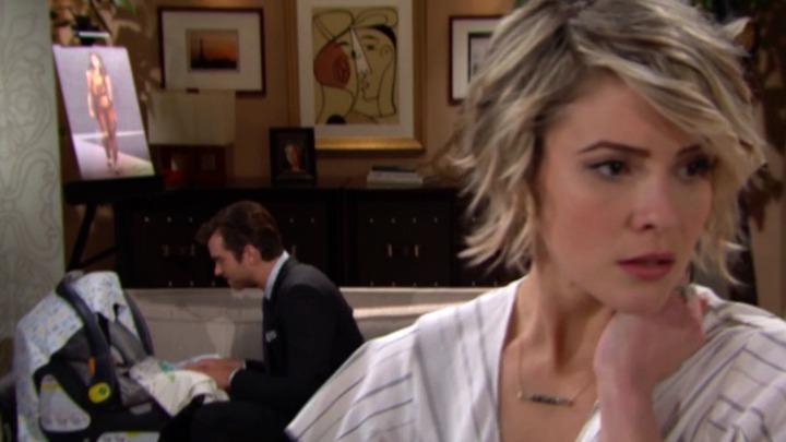 Caroline gets nervous as Thomas grows closer to Douglas.