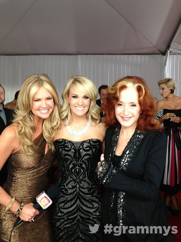 Carrie Underwood and Bonnie Raitt