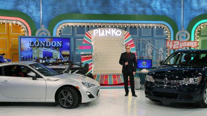 Drew Carey threw an on-air Plinko party.