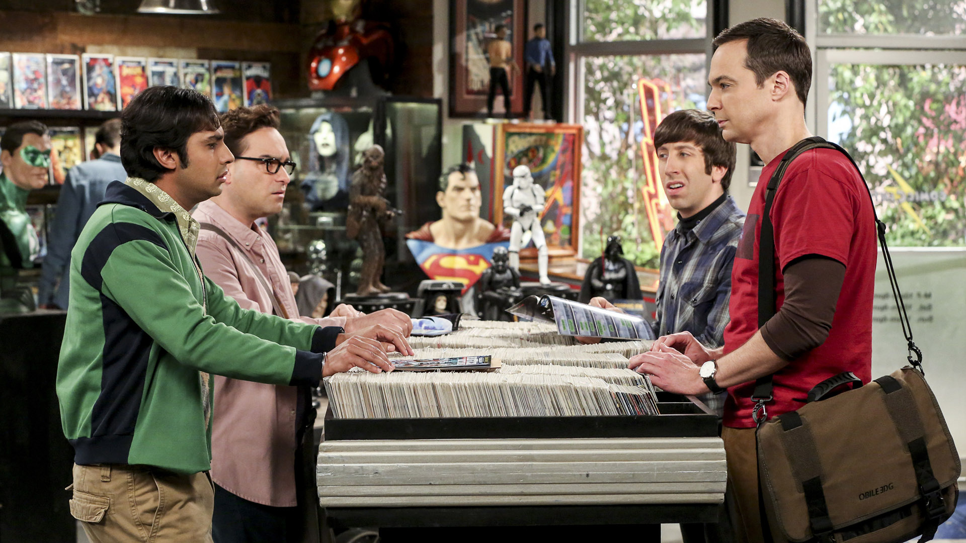 When it comes to science and pop culture, these four are thick as thieves.