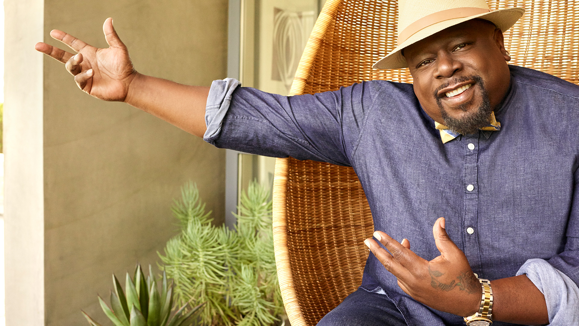 Cedric the Entertainer, won't you be our neighbor?