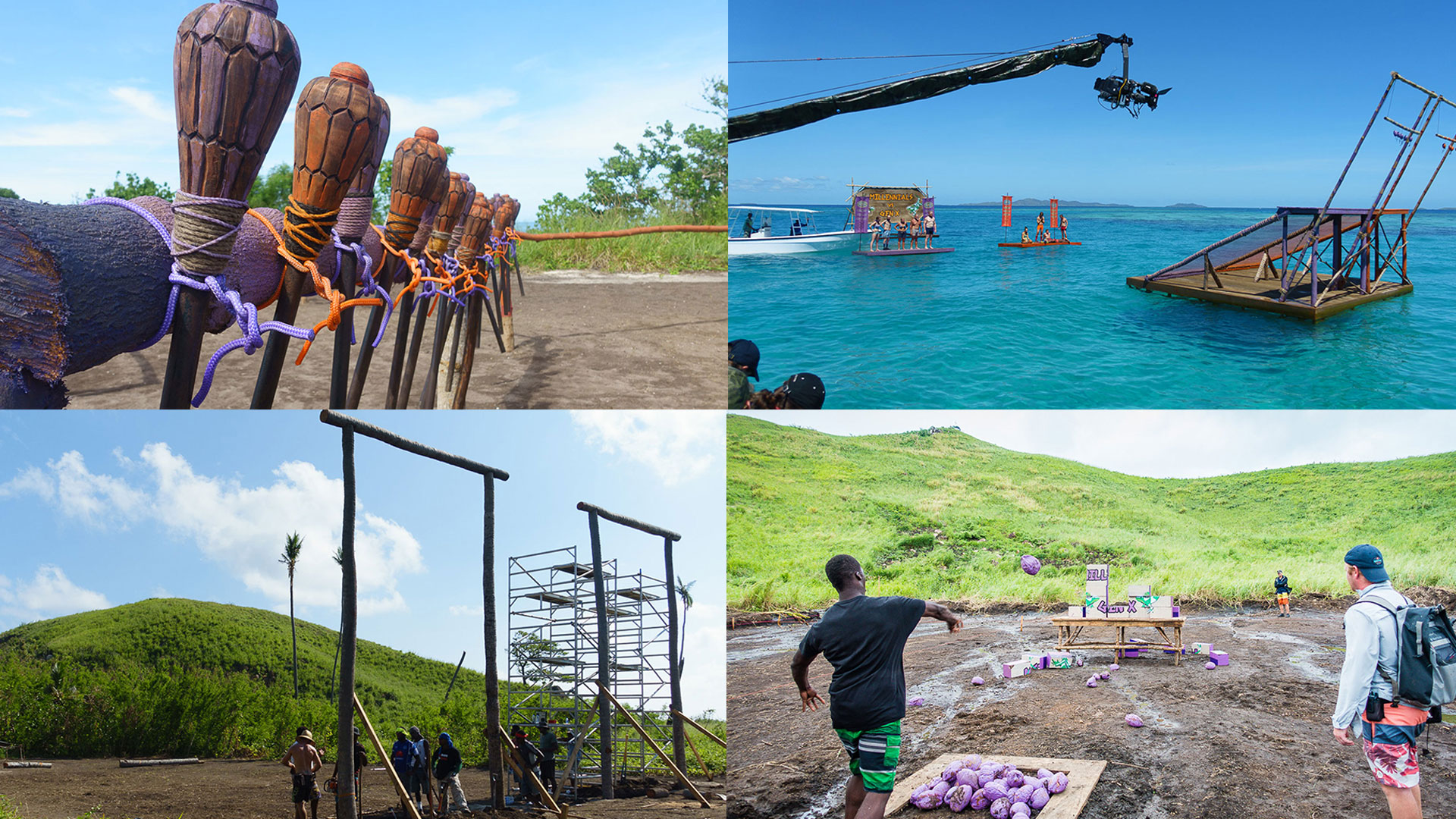 Get insider intel on the challenges from this season of Survivor.