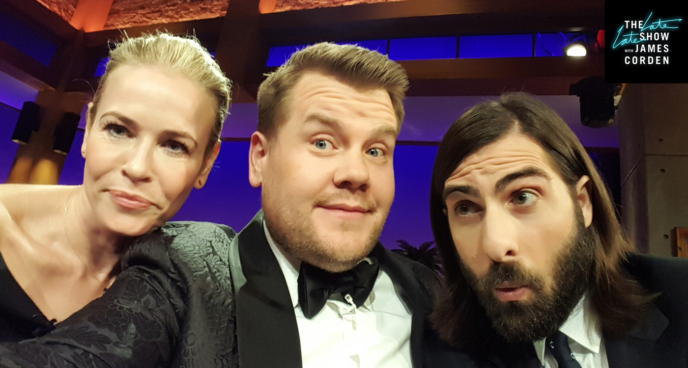 Chelsea Handler and Jason Schwartzman