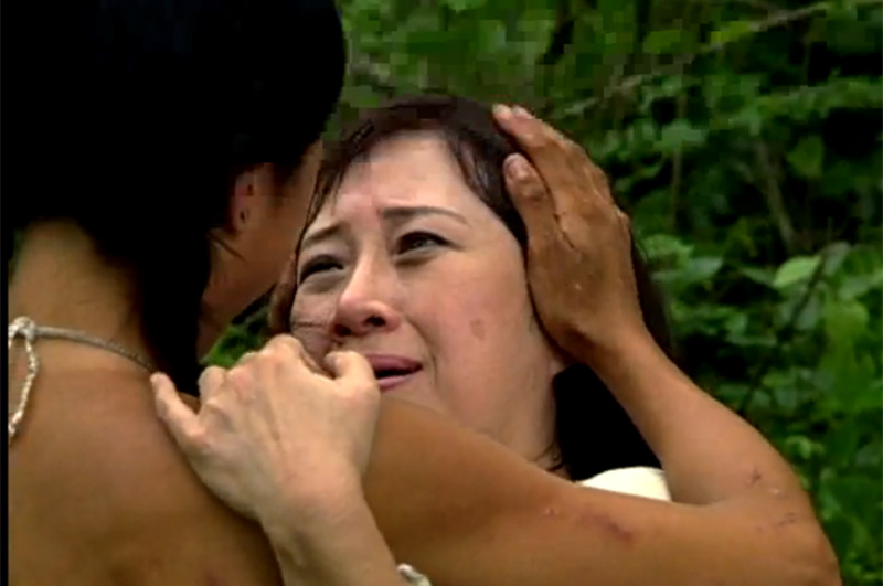 Season 8: Shii Ann Huang is reunited with her mother.