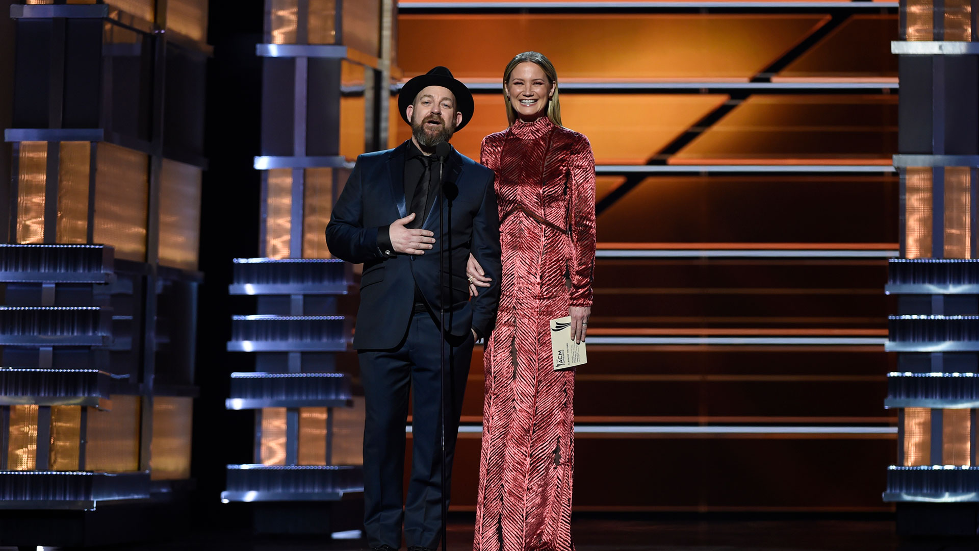 From A Room: Vol. 1 by Chris Stapleton wins Album of the Year at the 53rd ACM Awards.