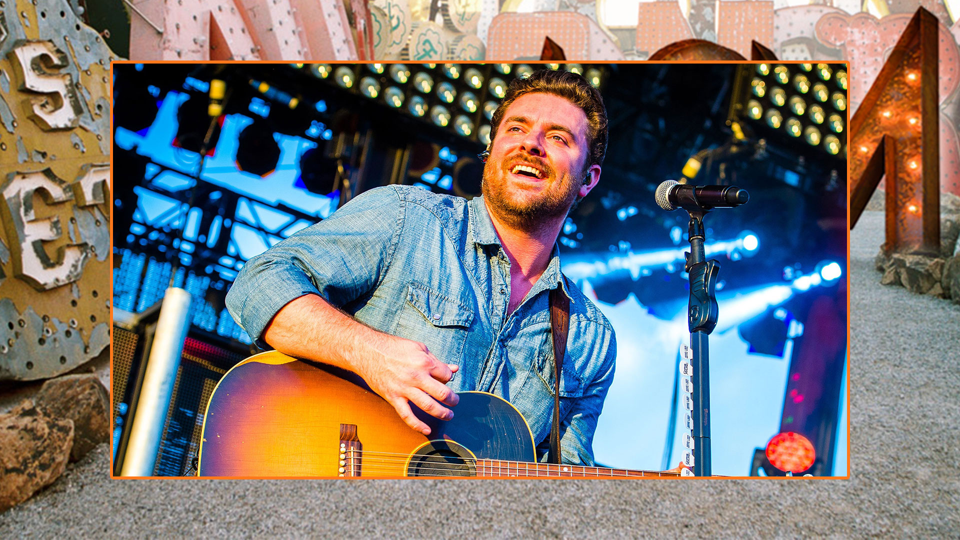 Chris Young is exactly the bearded man we want him to be.