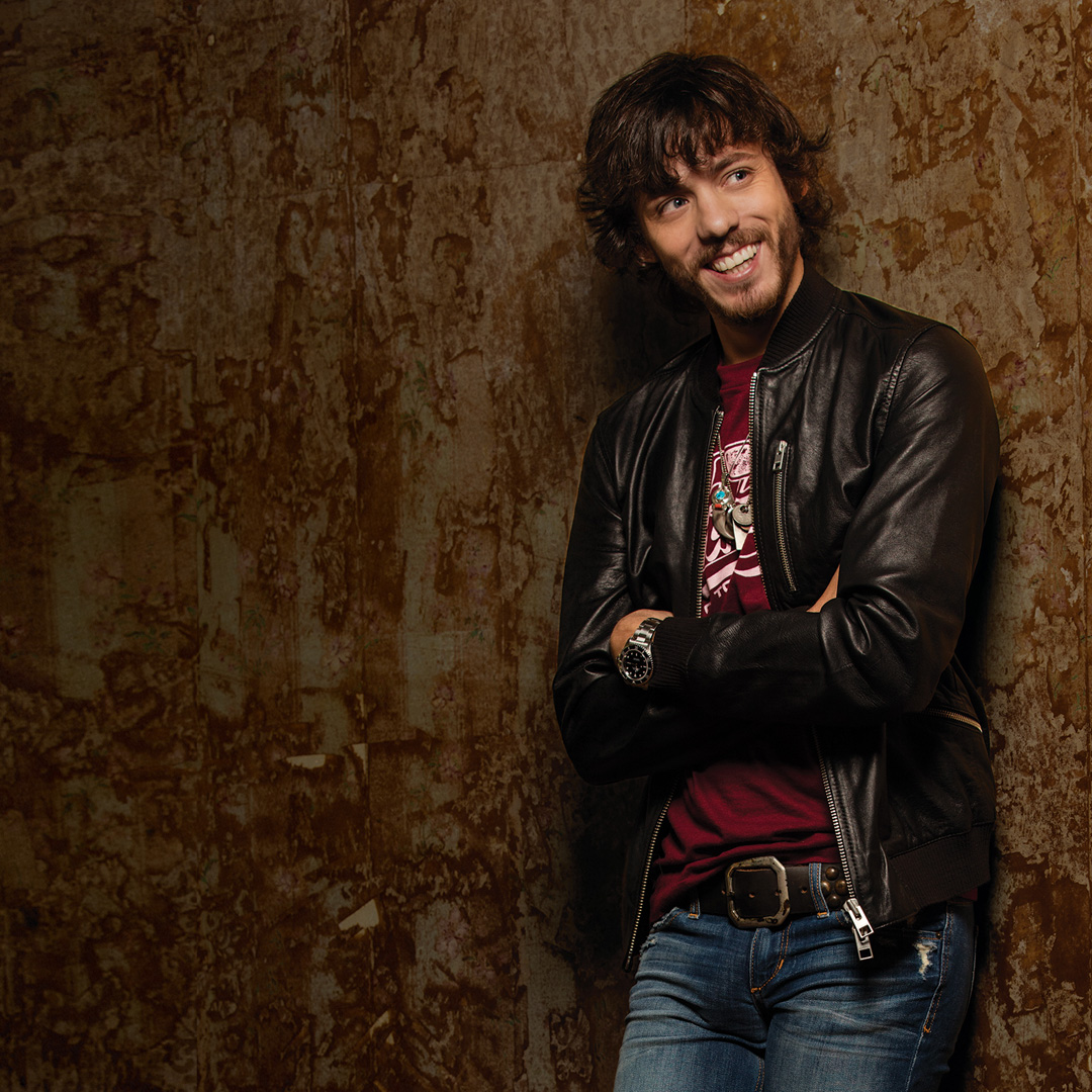 Chris Janson, nominated for New Male Vocalist Of The Year
