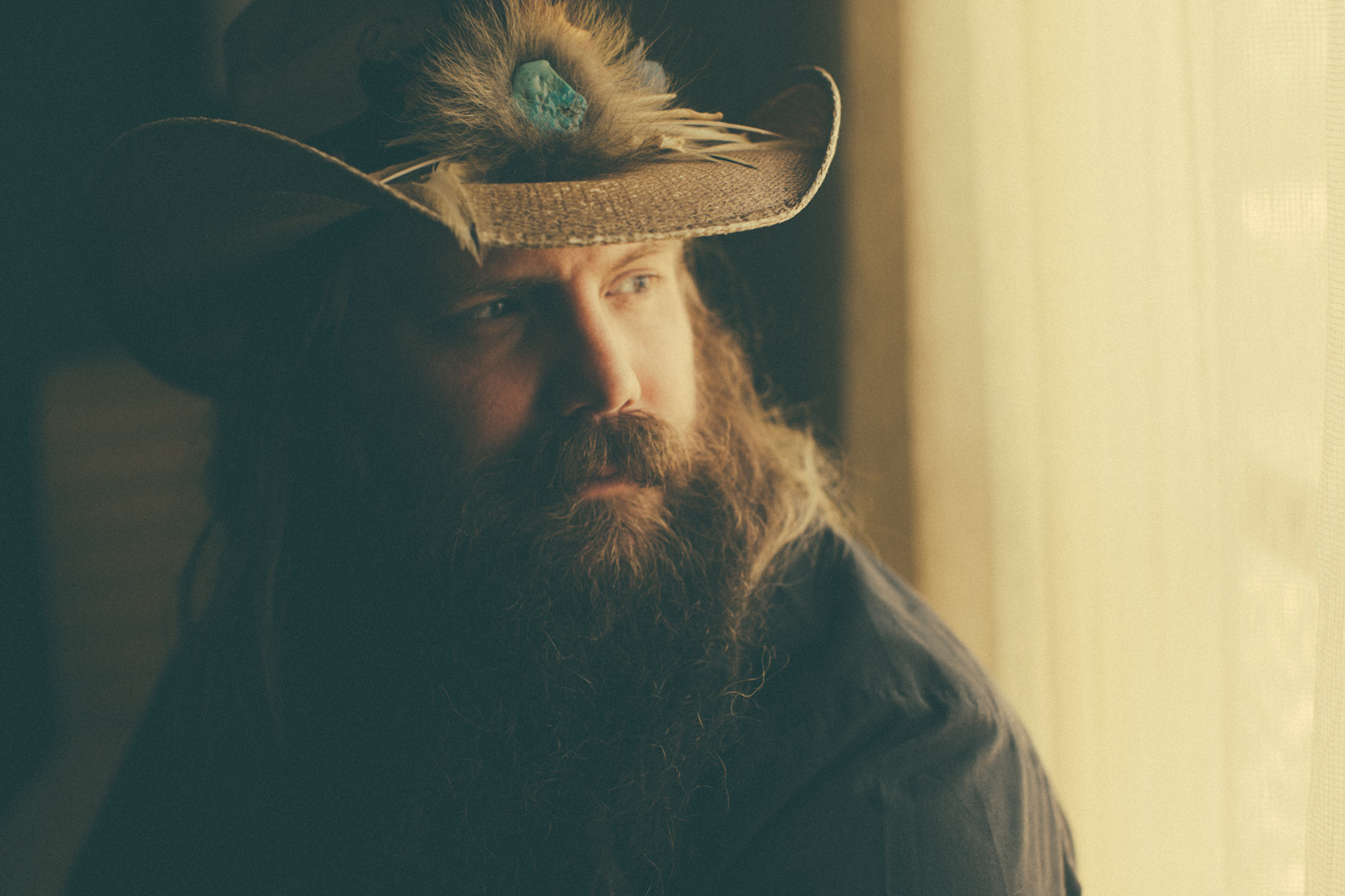 Chris Stapleton, nominated for New Male Vocalist Of The Year