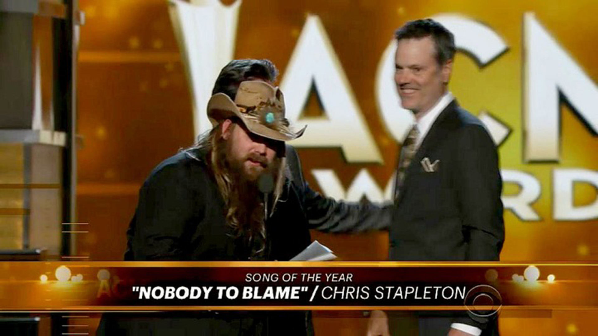 Chris Stapleton: Song Of The Year