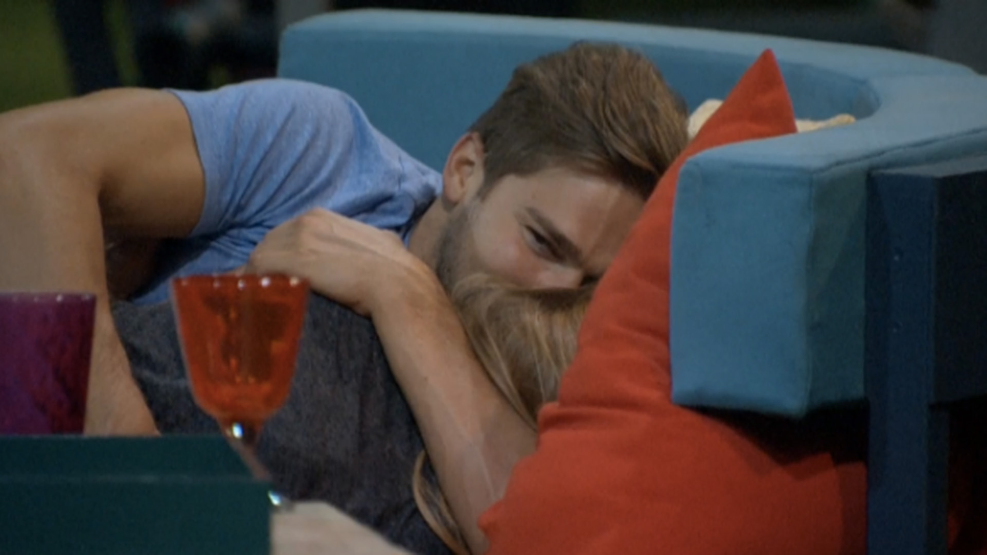 1. Clay and Shelli share their very first kiss.