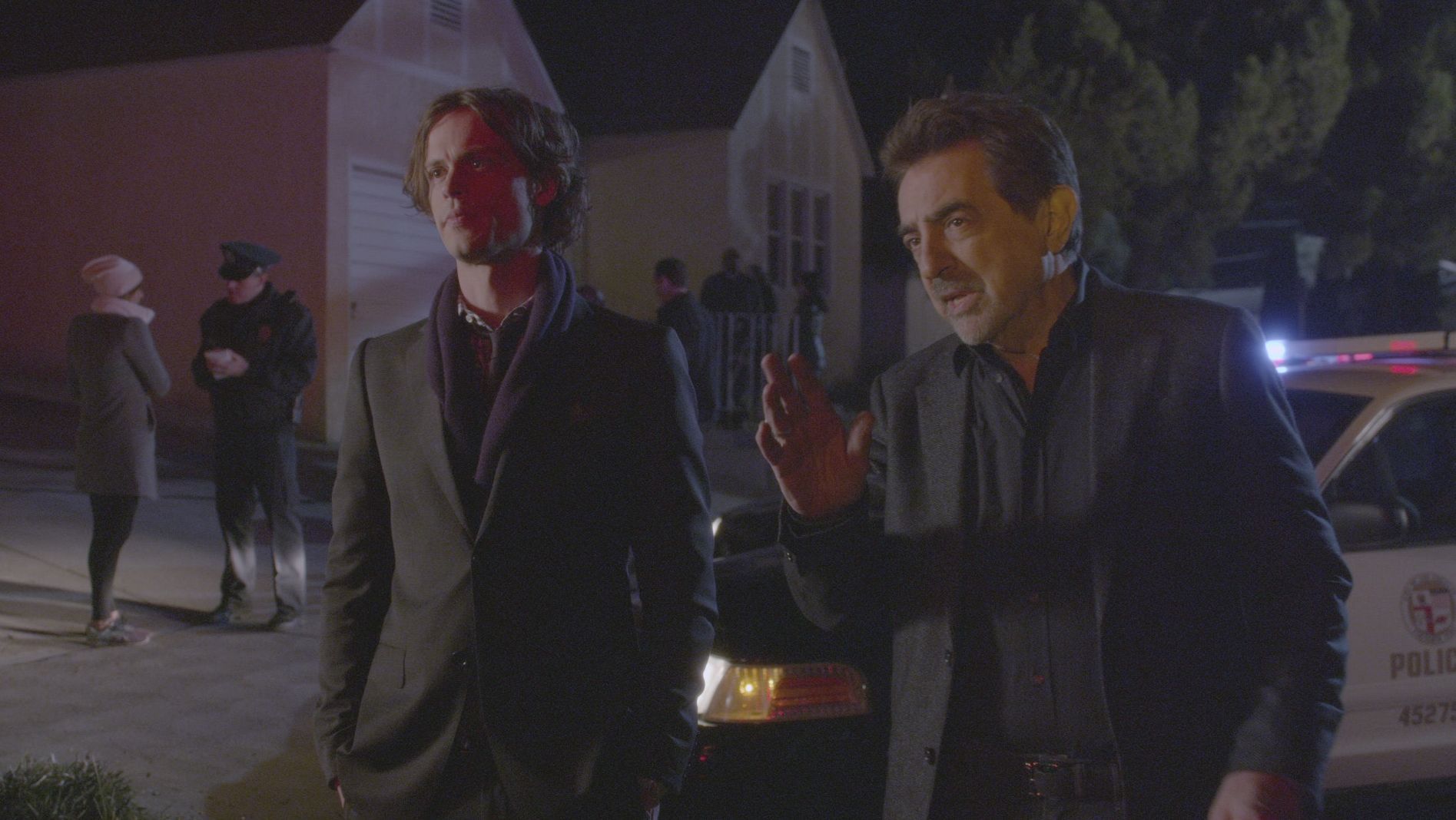 Reid and Rossi arrive on the scene.